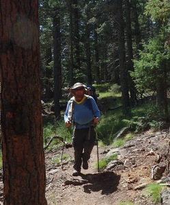 Our Scoutmaster at Philmont