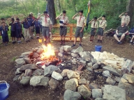 Pack 107 Campfire